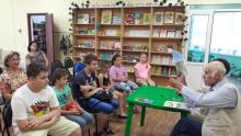 В Курчатовском филиале Радуга состоялась встреча с писателем И. Ф. Зиборовым