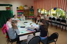 Урок в Железногорском филиале